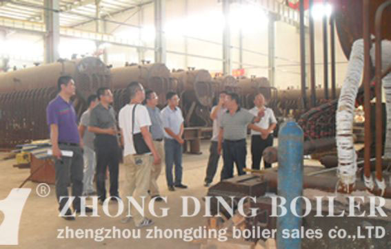 The working principle of oil and gas boiler